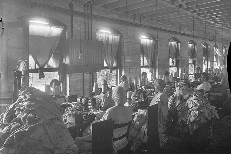 historic melrose knitting mill
