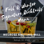 The Taste of Fall at Melrose Knitting Mill