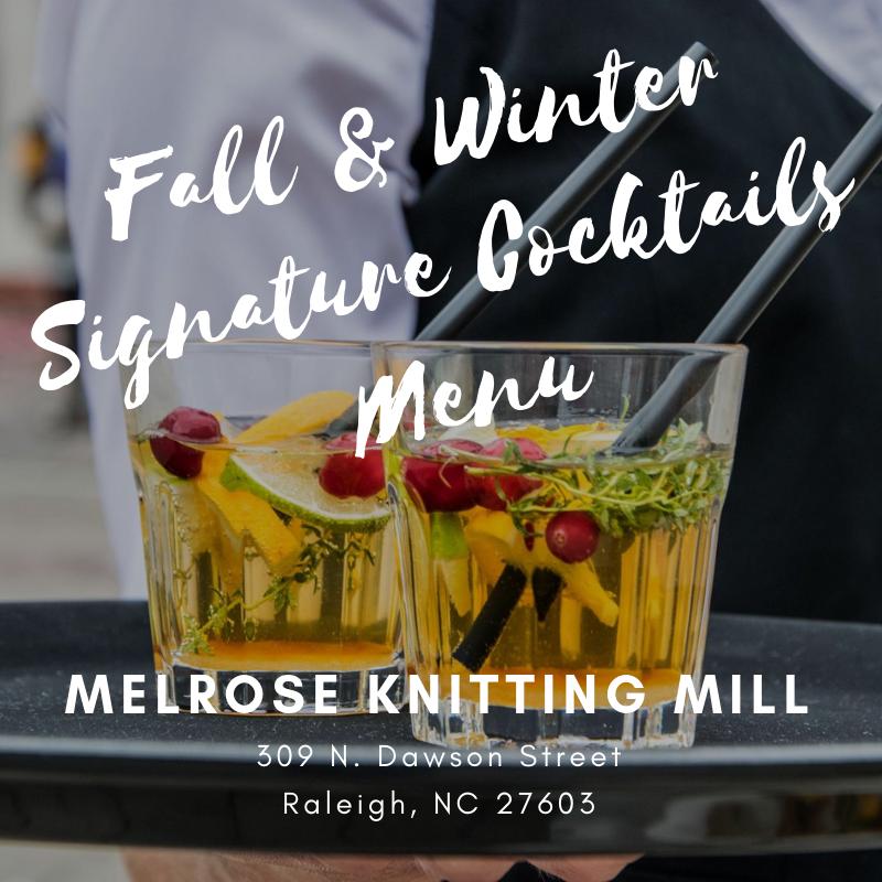 The Taste of Fall at Melrose Knitting Mill
