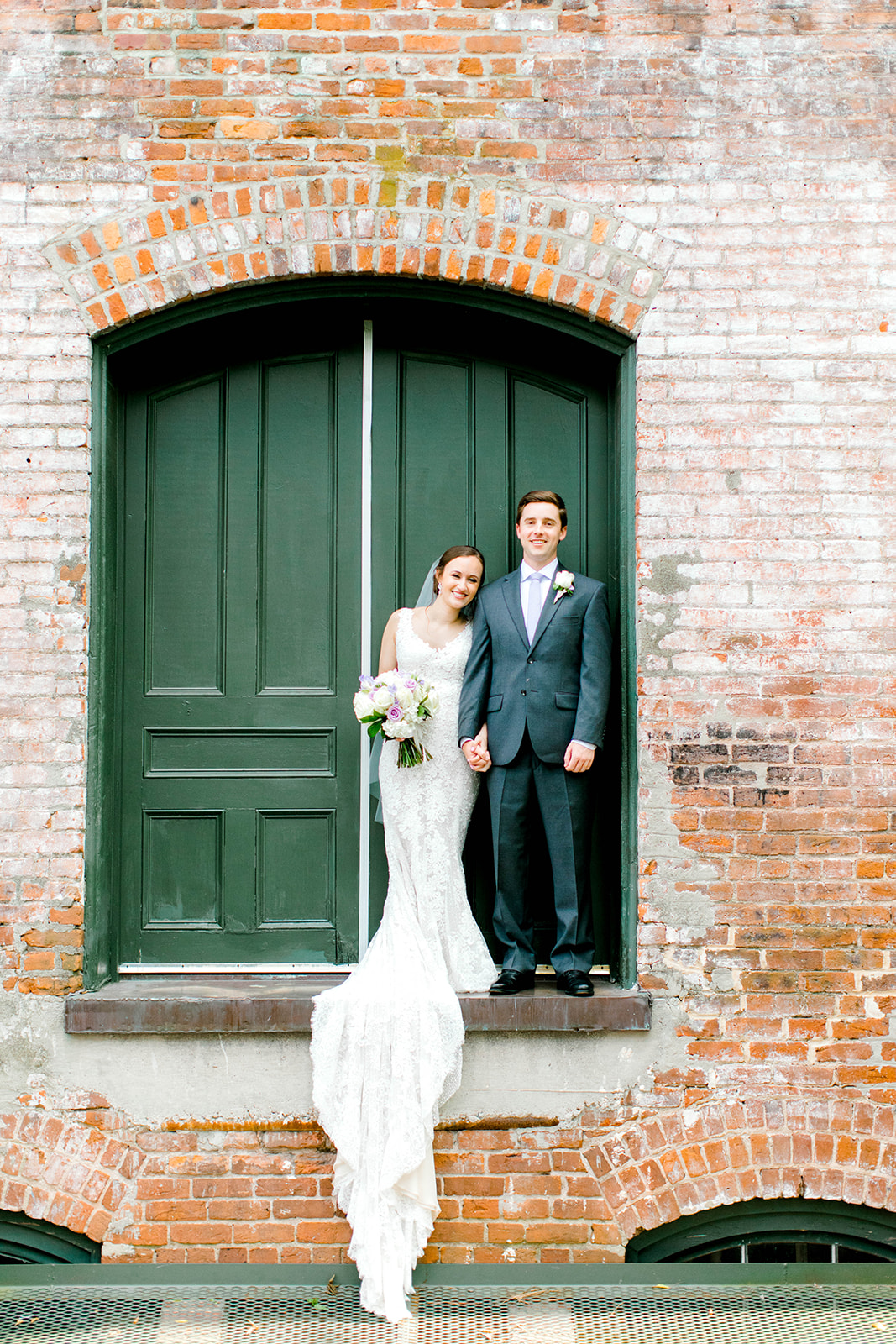 Caitlin and Forrest at Melrose Knitting Mill