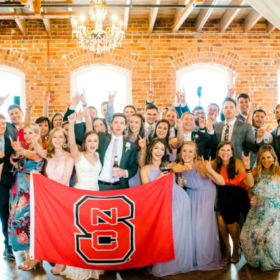 A Wolfpack Wedding: Caitlin and Forrest