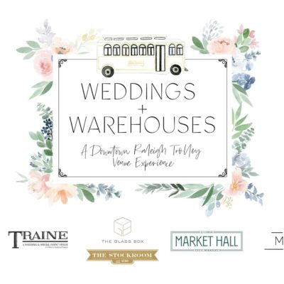 Save the Date: Weddings + Warehouses on January 12, 2020