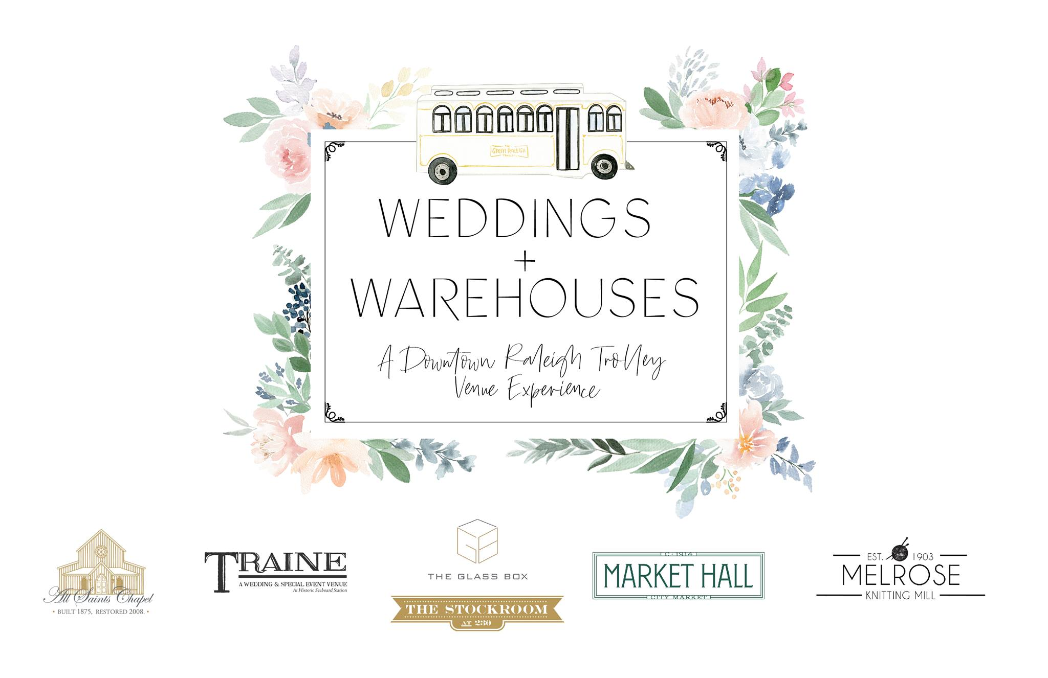 Wedding +Warehouses Featuring Melrose Knitting Mill