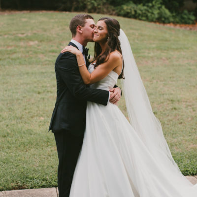 A First Look Done Right: Taylor & Trevor's Wedding at Melrose Knitting Mill