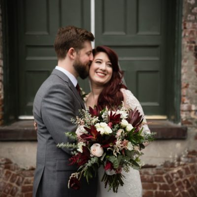 California Lovers Wed in Downtown Raleigh