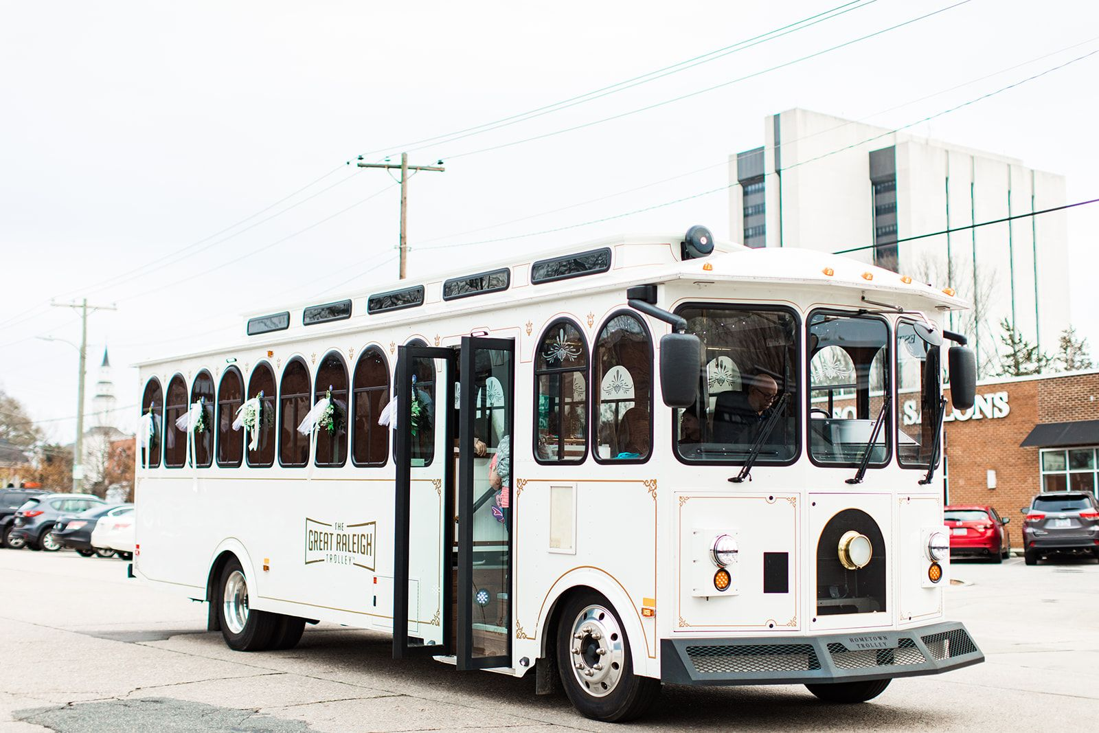 Great Raleigh Trolley Weddings + Warehouses Tour 2020 Recap