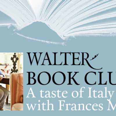 Join Us for a Taste of Italy With Frances Mayes