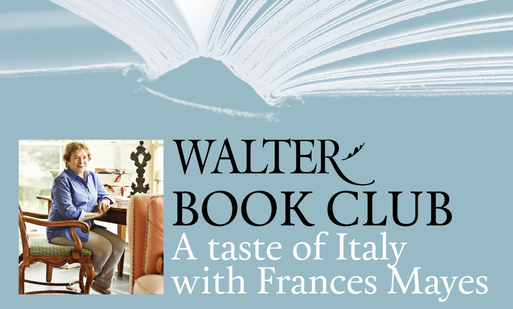 A Taste of Italy with Frances Mayes