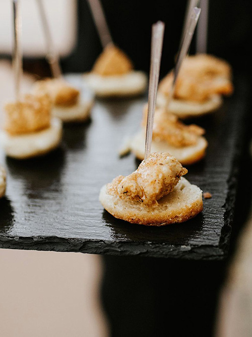 The ultimate food for your Wedding Reception
