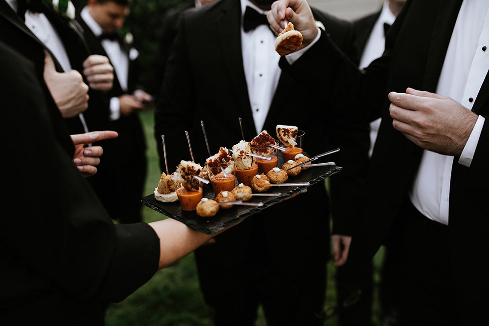 Wedding Catering at Melrose Knitting Mill in Raleigh NC