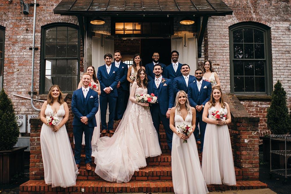 Melrose Knitting Mill | Wedding Photography | Three Regions Photography